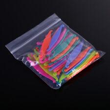 50pc Orthodontic Dental Plastic Elastic Rubber Band Pull Hook Opener Multi-Color