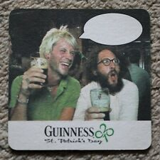Vintage Guinness Males Caption Beer Mat St. Patrick's Day Sing-a-long Danny Boy