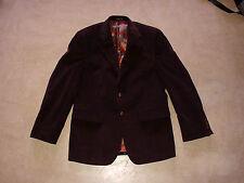 RALPH LAUREN men's sport coat jacket 38R M L leather details casual chique
