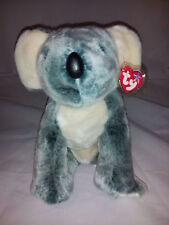 "Ty Beanie Buddies Koala Bear Eucalyptus 1999 Plush Stuffed Animal Lovey 11"" Toy"