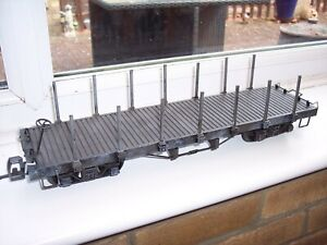 BACHMANN G SCALE MODEL RAILWAY STAKE WAGON       (ROLLING STOCK)