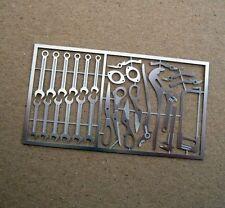 Tremonia 1/12 diorama herramienta set-Tool Set for Tamiya, Revell, Kyosho accesorios