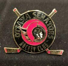 NHL Ottawa Senators Hockey Club Sticks Pin Peter David 1993 VINTAGE