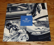Original 1995 Honda Civic Sedan & Coupe Deluxe Sales Brochure 95