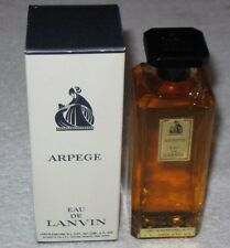"Vintage Jeanne Lanvin Arpege Perfume Bottle/Box 4 OZ Open/Full - 5"" Height"