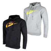 Nike Men's Long Sleeve Futura Graphic Logo Pullover Hoodie