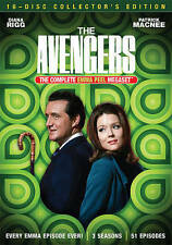 The Avengers: Complete Emma Peel Megaset (dvd) New, Free Shipping