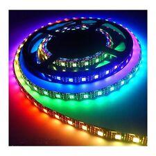 STRISCIA LED PER ESTERNO LED SMD 5050 RGB IP65 IMPERMEABILE CON TELECOMANDO E AL