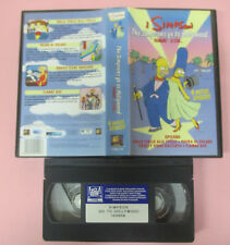 VHS film I SIMPSON The simpsons go to hollywood TREMANO LE STAR (F158) no dvd