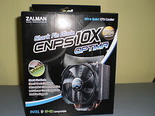 ZALMAN CNPS10X OPTIMA 120mm CPU cooler Fan Intel 1150/1155/1366/775 & AMD  AM3+
