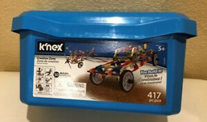 K'NEX Imagine - Creation Zone Building Set - 417 Pieces - Ages 5 and Up