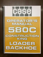 Case 580C Loader Backhoe Operators Manual Owners Manual