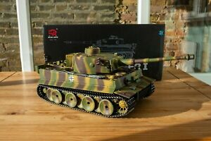 Henglong 1/16 Remote Control Tiger 1 Ver 6.0 2.4GHz metal upgrades, BB and smoke