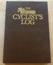 Ultra Rare Ron Kitching Cyclists Log Book 1982 Bike Collectable Memorabilia