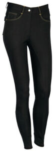 Harry´s Horse Oakham Damen Reithose Vollbesatz Silikon, schwarz,  Gr. 40 (13) ,