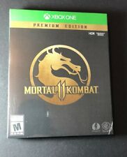 Mortal Kombat 11 Premium Edition [ STEELBOOK Package ] (XBOX ONE) NEW