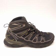 Mens Salomon X Ultra Mid 2 GTX Black Athletic Support Hiking Mid Boots Sz 10.5
