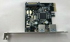 StarTech 2 Port PCI Express SuperSpeed USB 3.0 Controller Card w/ SATA power