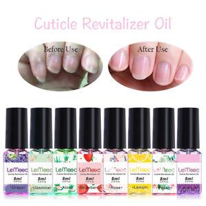 LEMOOC 8ml Nail  Oil Moisturizing Finger Soften Dead Skin Nail Art Care
