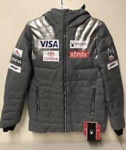 NEW 2019 US Ski Team Spyder Falline Down Jacket Women's M