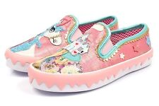 Irregular Choice NEW Misty Castle pink unicorn flat trainers character shoes 3-9