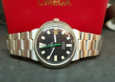 USED VINTAGE OMEGA DYNAMIC BLACK DIAL DATE AUTOMATIC MAN'S WATCH