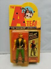 New listing 1983 A-team The Bad Guys Viper Action Figure Damaged Package Not Complete Rare