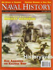 Naval History Oct.03 USMC Battle Of Bull Run Civil War Salerno Italy Kaliusa