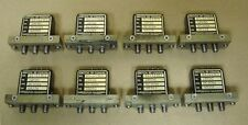 8 pieces Dynatech D1-413 Coaxial RF Microwave Latching Relay SMA DC-3GHz 28Vdc