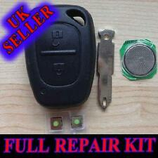 Suitable for RENAULT TRAFFIC KANGOO REMOTE TRANSPONDER KEY FOB CASE REPAIR KIT
