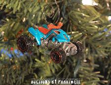 Custom Race Quad ATV Christmas Ornament 1/64 Polaris Suziki Kawasaki Yamaha Apex
