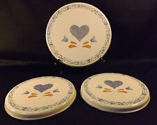 Country Hearts Stovetop Burner Covers - set of 3