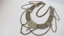Silver Plated Vintage Costume Necklaces without Theme