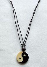 Yin und Yang Halskette mit Lederband Taiji Hotu necklace