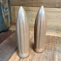 Vintage Bicycle USA Made Reproduction 1930s Tan Torpedo Streamline Hand Grips