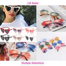 US Women Lovely Heart Shape Sunglasses Halloween Cat Eye Retro Sun Glasses UV400