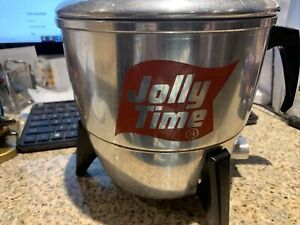 VINTAGE JOLLY TIME  MIRRO MATIC ELECTRIC POPCORN POPPER