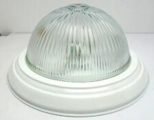 """Energy Saving Ceiling Fixture GU24 13-1/2""""L X 5-1/4""""H White Clear Glass Shade"""