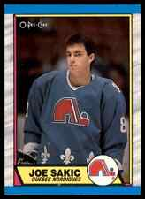 1989-90 O-PEE-CHEE JOE SAKIC RC QUEBEC NORDIQUES #113