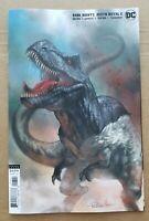 Dark Nights Death Metal #6 Comic - Lucio Parrillo Variant B-Rex-Batman T-Rex 🔥