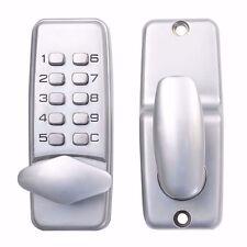 NEW Keyless Locks digital mechanical Code Keypad Password Security Door Hardware