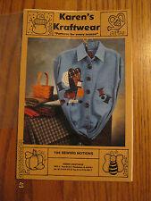"NEW/UNCUT-Karen's Kraftwear ""Patterns for Every Season""- #194 Sewing Notions"