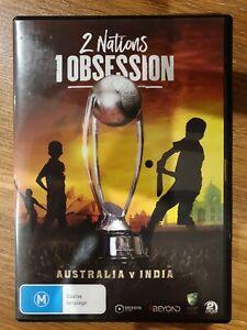 2 Nations 1 Obsession - Australia v India (DVD, 2018, 2-Disc, R4) Cricket NEW