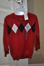 Boys Children'S Place Red Sweater Size 4T New With Tags