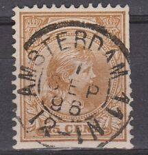 NVPH Netherlands Nederland nr 39 TOP CANCEL AMSTERDAM Wilhelmina 1893