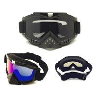 Motocross Lunettes Avec Protège-nez Protection Off-Road Casque Lunettes Racing