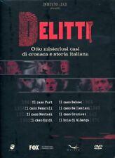 Istituto Luce DVD delitti Cofanetto (8 Dvd) 2005 TV - Serie