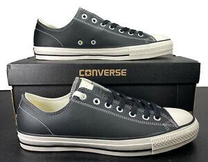 Converse Chuck Taylor All Star Pro Ox Black Leather Sneaker 144599C 11 Men