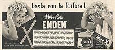 W1986 ENDEN - Helene Curtis - Pubblicità del 1958 - Vintage advertising