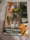 Power Rangers Lightning Collection: DRAGON SHIELD BLACK RANGER Action Figure!